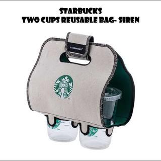 スターバックスコーヒー(Starbucks Coffee)のスターバックス リユーザブル カップホルダー 2カップ用(収納/キッチン雑貨)