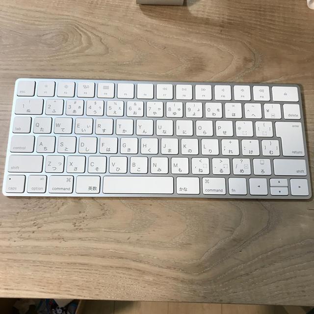 Apple(アップル)の【値下げ】apple magic keyboard A1644 JIS配列 スマホ/家電/カメラのPC/タブレット(PC周辺機器)の商品写真
