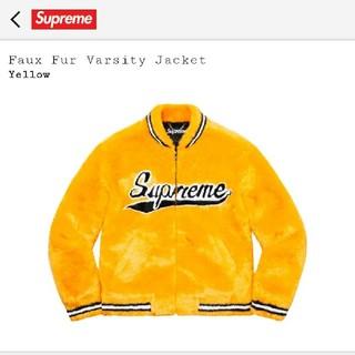 Supreme - Supreme Faux Fur Varsity Jacket Lサイズ