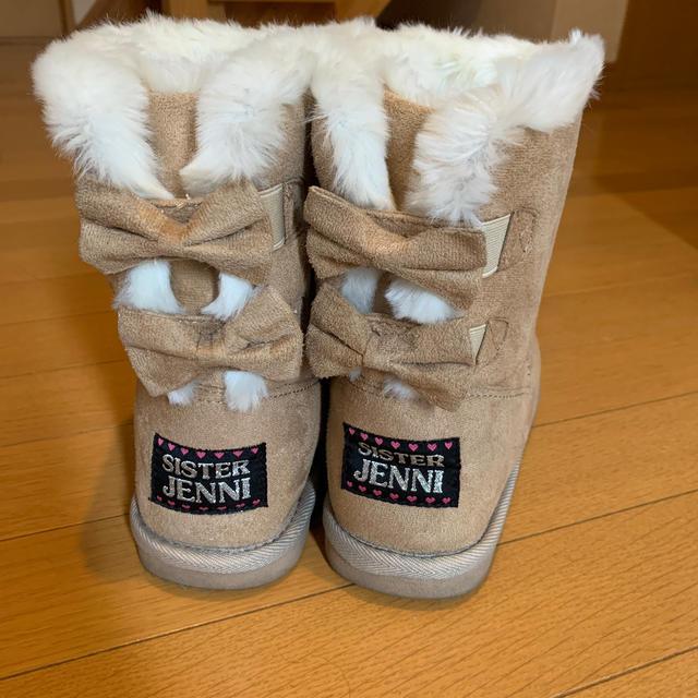 JENNI(ジェニィ)のSister Jenniムートンブーツ キッズ/ベビー/マタニティのキッズ靴/シューズ(15cm~)(ブーツ)の商品写真