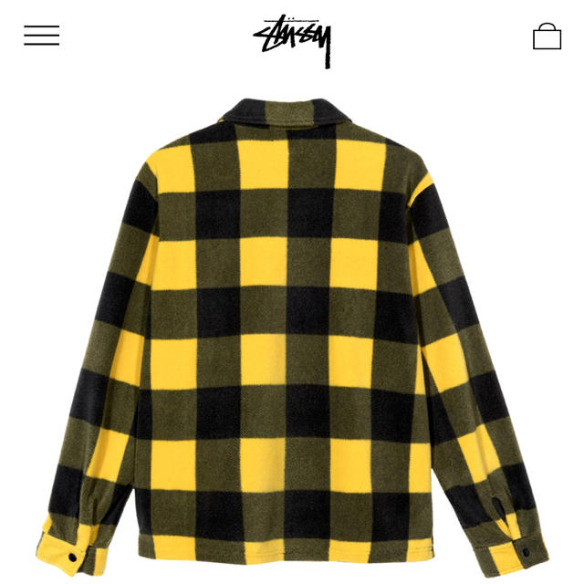 STUSSY(ステューシー)の春先活躍 ステューシー チェックシャツ  メンズのトップス(シャツ)の商品写真