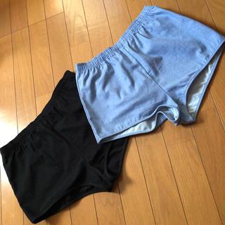 EMODA - EMODA ショートパンツ デニム ブラック M まとめ売り ウエストゴム