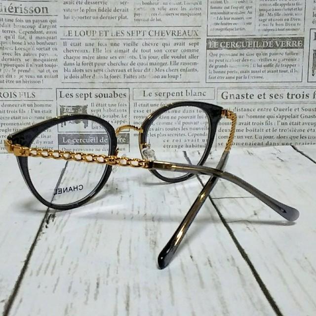 CHANEL(シャネル)のCHANEL メガネ シャネル 送料無料 レディースのファッション小物(サングラス/メガネ)の商品写真