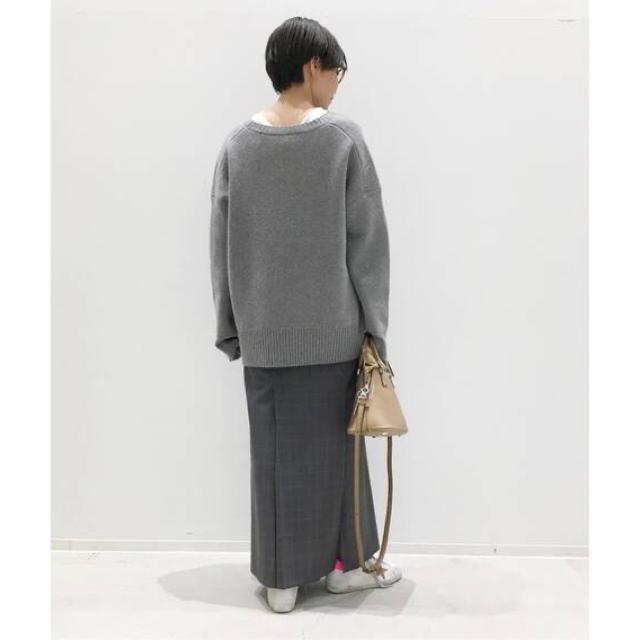L'Appartement DEUXIEME CLASSE(アパルトモンドゥーズィエムクラス)の20ss L'Appartement CHECK SLIT スカート  完売 レディースのスカート(ロングスカート)の商品写真