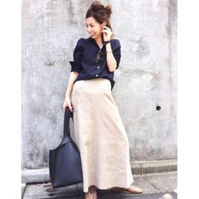 L'Appartement DEUXIEME CLASSE(アパルトモンドゥーズィエムクラス)のマディソンブルー  マキシスカート レディースのスカート(ロングスカート)の商品写真