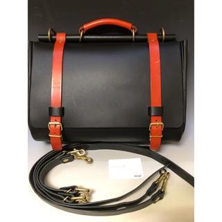 ヘルツ(HERZ)の購入予約 棒屋根かぶせバック 3way 新品同様 別注品(ショルダーバッグ)