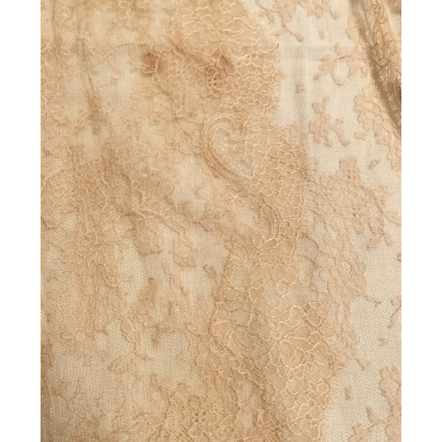 VALENTINO(ヴァレンティノ)の2018ss 新品タグ付き レア ヴァレンティノ レーストップ レディースのワンピース(ひざ丈ワンピース)の商品写真