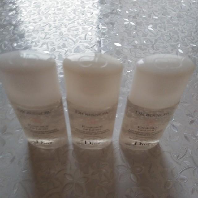 Dior(ディオール)の★新品★Dior★薬用化粧水★3個セット。 コスメ/美容のキット/セット(サンプル/トライアルキット)の商品写真