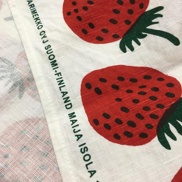 marimekko(マリメッコ)の⭐️マリメッコ 廃盤 マンシッカ キッチンタオル インテリア/住まい/日用品のキッチン/食器(収納/キッチン雑貨)の商品写真