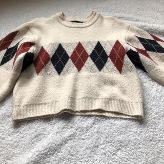 heather - ニットセーター