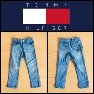 TOMMY HILFIGER - 【TOMMY HILFIGER】キッズデニムパンツ  4T