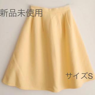 新品 ミディースカート サイズS(ひざ丈スカート)