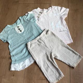 Biquette - ビケット    スパッツ Tシャツ 3点セット