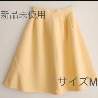 新品 ミディースカート サイズM(ひざ丈スカート)
