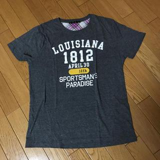 イッカ(ikka)のグレー Tシャツ(Tシャツ/カットソー(半袖/袖なし))