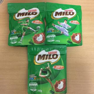 ネスレ(Nestle)のNestle MILO 3袋(その他)