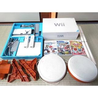 Wii - 任天堂wii太鼓の達人、マリオカートなど豪華セット