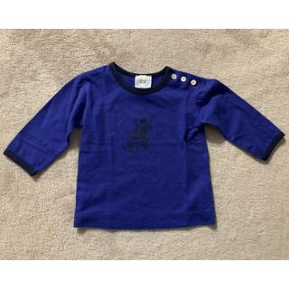 アニエスベー(agnes b.)の【美品】アニエス・ベー 長袖Tシャツ 6mois(シャツ/カットソー)