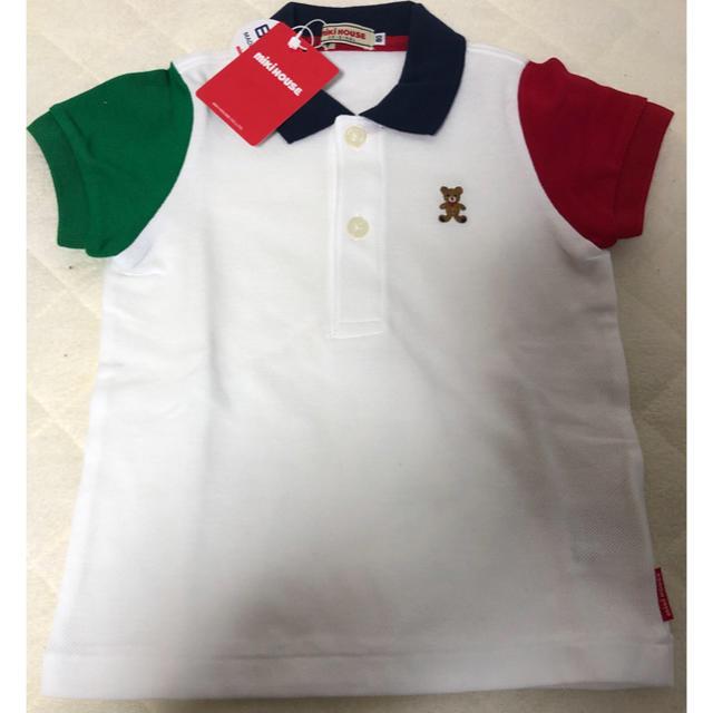 mikihouse(ミキハウス)のミキハウス ポロシャツ 80 キッズ/ベビー/マタニティのベビー服(~85cm)(シャツ/カットソー)の商品写真