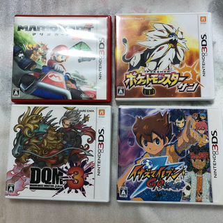 ニンテンドー3DS - 3DSソフト4本セット
