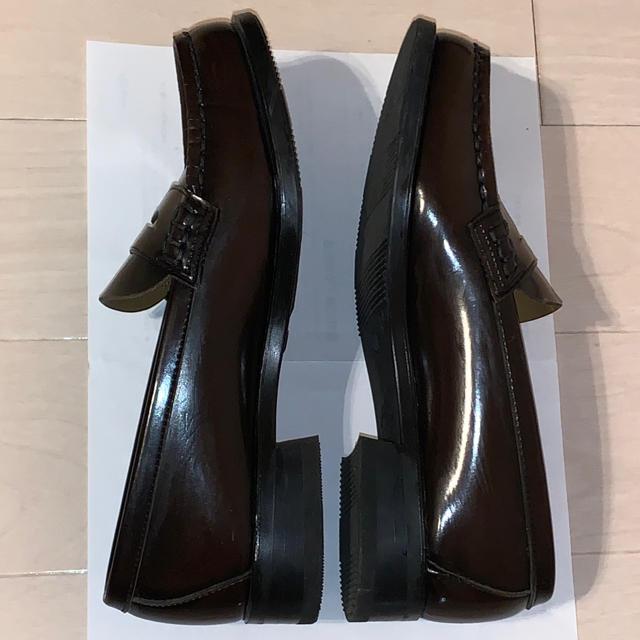 HARUTA(ハルタ)のハルタ ローファー こげ茶 レディースの靴/シューズ(ローファー/革靴)の商品写真