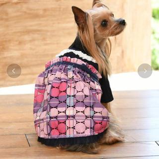 メゾピアノ(mezzo piano)の未使用⭐︎mezzo piano 犬用ワンピース メゾピアノ ペット 犬服(犬)
