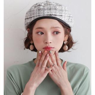 dholic - 新品未使用 dholicツイードベレー帽