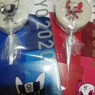 東京2020 オリンピックマスコット スティックキャンディーセット(菓子/デザート)