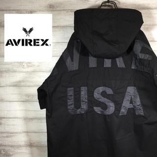 AVIREX - AVIREX アヴィレックス 半袖 パーカー XL 送料無料