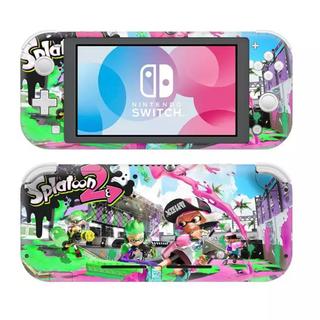 Nintendo Switch - 《新品》スプラトゥーン④ 任天堂Switch Light スキンシール✦汚れ防止