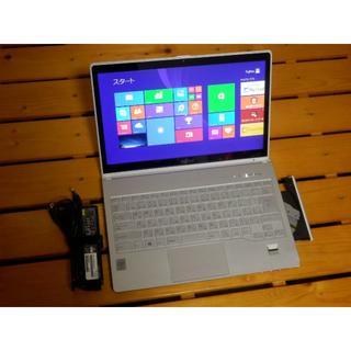 富士通 - 富士通 ノートパソコン LIFEBOOK SH90/P i5 WQHD液晶