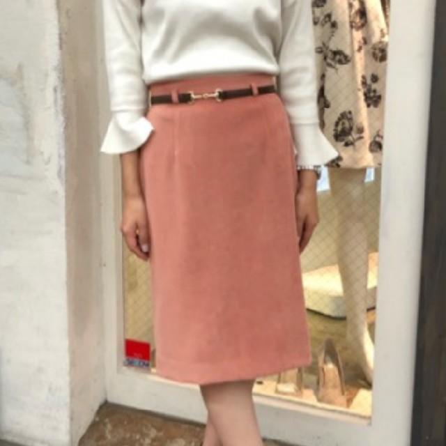 JUSGLITTY(ジャスグリッティー)のJUSGLITTY ビット付タイトスカート❤️美品 レディースのスカート(ひざ丈スカート)の商品写真