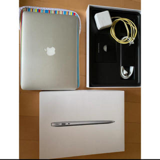 Apple - mac book air 13inch 今月限定出品