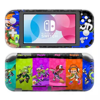 Nintendo Switch - 《新品》スプラトゥーン⑤ 任天堂Switch Light スキンシール✦汚れ防止