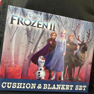 Disney - アナと雪の女王 ブランケット&クッションセット