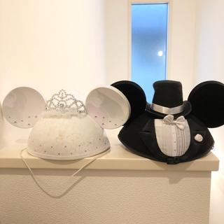 ディズニー(Disney)のアウラニ hawaii 購入 ディズニー ウエディング グッズ ペア ミッキー(ウェルカムボード)