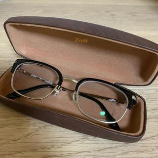 ゾフ(Zoff)のzoff classic 眼鏡 ウェリントン クラシック メガネ jins(サングラス/メガネ)