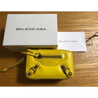 バレンシアガ(Balenciaga)のバレンシアガ ポーチ イエロー黄色(ポーチ)