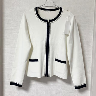 TO BE CHIC - TO BE CHIC春夏ダブルジップニットジャケット新品Ⅲ