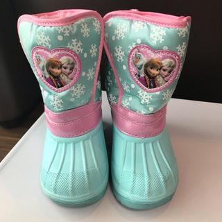 ディズニー(Disney)のアナと雪の女王★17.0cm★スノーブーツ★水色(ブーツ)