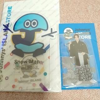 Johnny's - 【Snow Man スマホスタンド】&【目黒蓮アクリルスタンドⅡ】