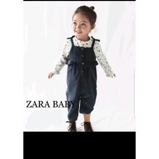 ザラ(ZARA)のZARABABY ザラベビー サロペット 新品未使用(パンツ/スパッツ)