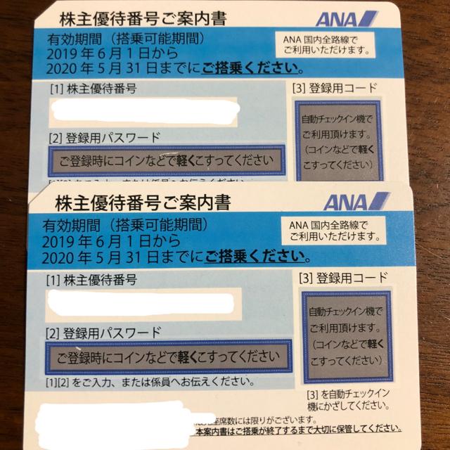 ANA(全日本空輸)(エーエヌエー(ゼンニッポンクウユ))のLowesさまANA優待券 チケットの優待券/割引券(その他)の商品写真
