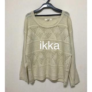 ikka - Ikka  ニットプルオーバー L