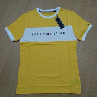 トミーヒルフィガー(TOMMY HILFIGER)のLサイズ トミーヒルフィガー yellow Tシャツ (Tシャツ(半袖/袖なし))