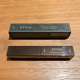 エトヴォス(ETVOS)のETVOS エトヴォス ミネラルルージュ カメリアローズ(口紅)