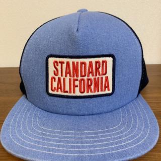 スタンダードカリフォルニア(STANDARD CALIFORNIA)のSTANDARD CALIFORNIA スタンダードカリフォ別注メッシュキャップ(キャップ)