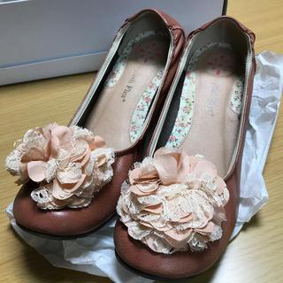 レディース パンプス 婦人靴 スタイリッシュ フレックス お花 24cm(ハイヒール/パンプス)