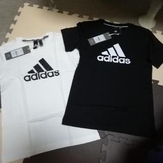adidas - 新品タグつきadidas Tシャツ 140センチ 2枚