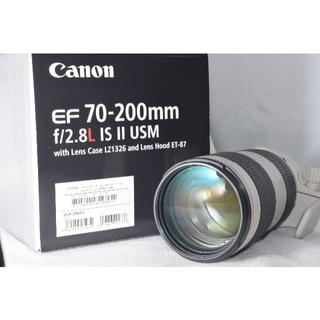 Canon - 綺麗な展示品☆Canon EF 70-200mm F2.8L IS II USM